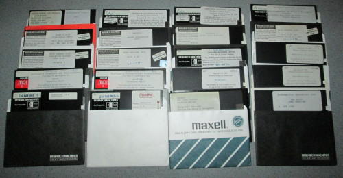Research Machines 380Z/480Z disks
