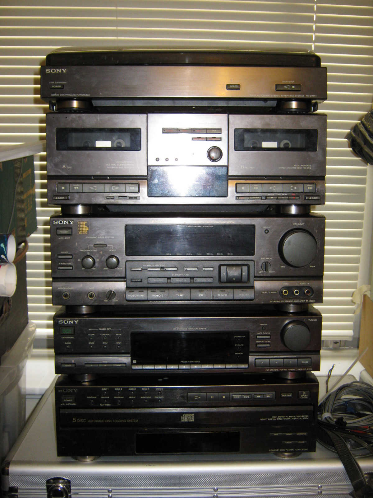 New Belts For A Sony Tc D709 Tape Deck