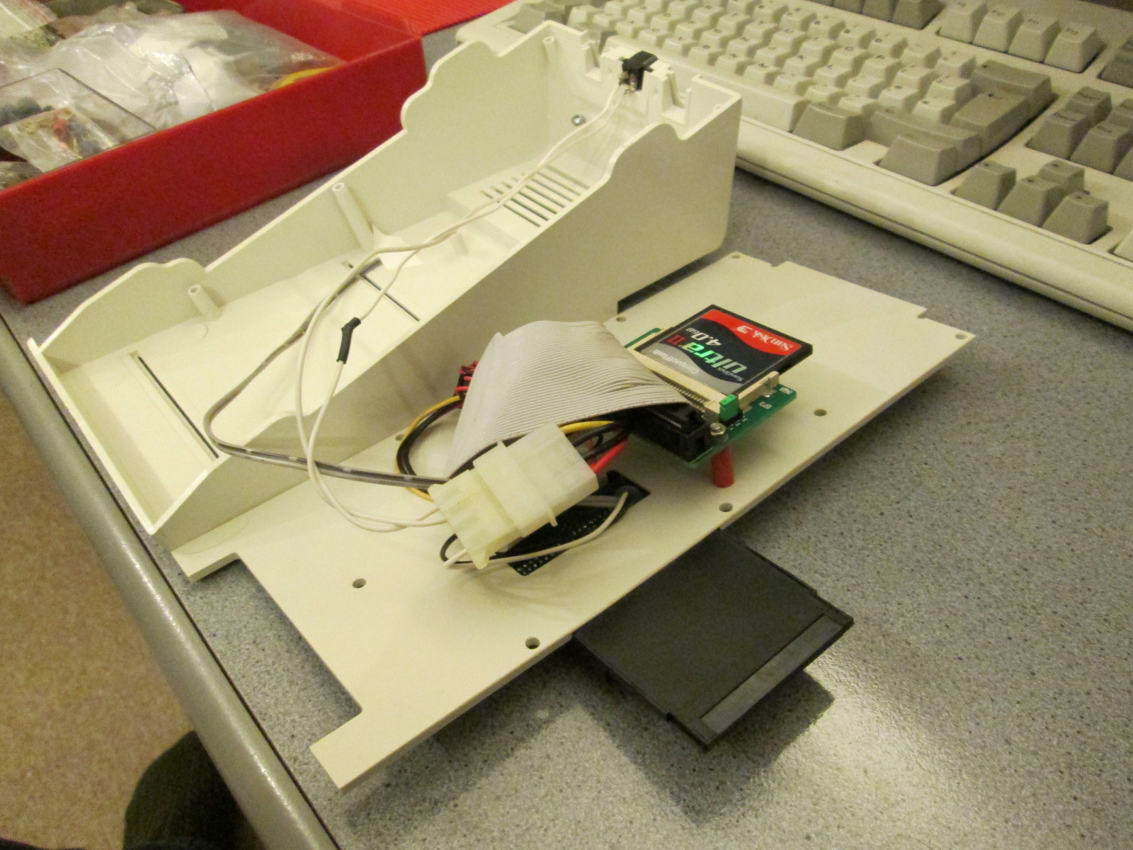 Fitting a CF card to an Amiga 1200
