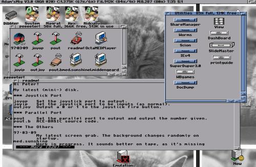 Amiga floppy imaging
